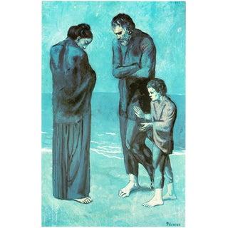"""1971 Picasso """"Les Pauvres Au Bord De La Mer"""" Parisian Photogravure For Sale"""