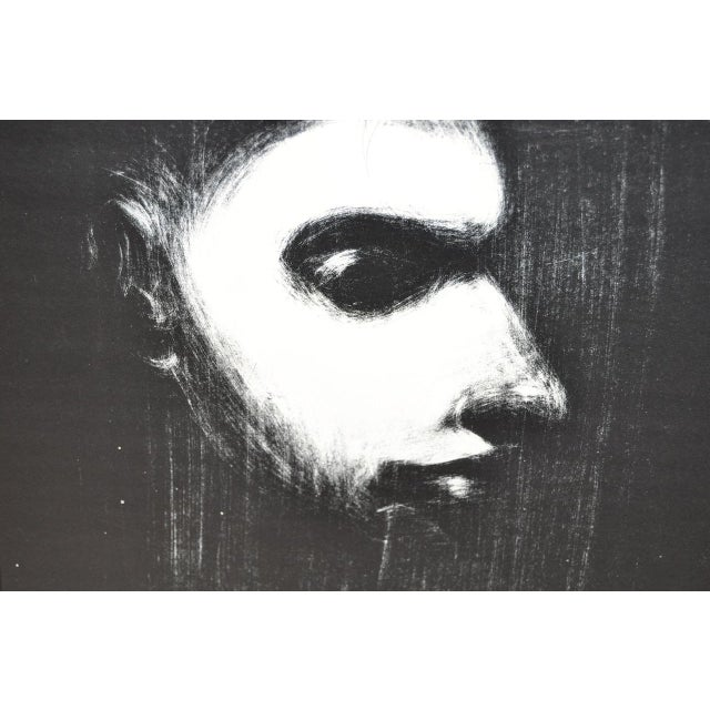 Black & White Lithograph by Nathan Oliveira For Sale - Image 5 of 6