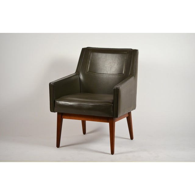 1960s Early Modernist Armchairs by Vista of California for Stow Davis - a Pair For Sale - Image 5 of 11