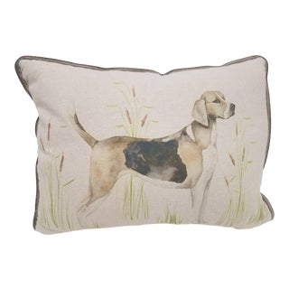Bolster Pillow of Dog - Made in Wales For Sale