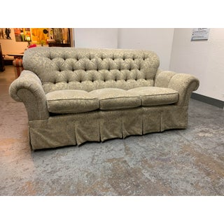 Custom High Back Tufted Rolled Arm Sofa Preview