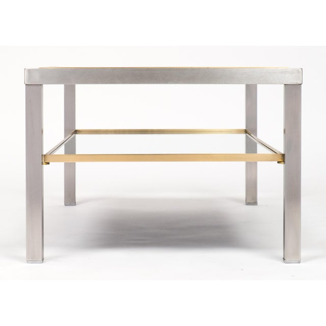 Vintage French Modernist Coffee Table For Sale In Austin - Image 6 of 10