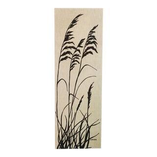 Vintage Marüshka Wheat Screen Print For Sale
