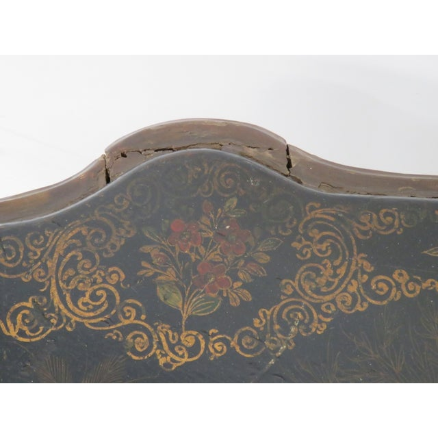 Carved Chinoiserie Decorated Coffee Table - Image 8 of 10