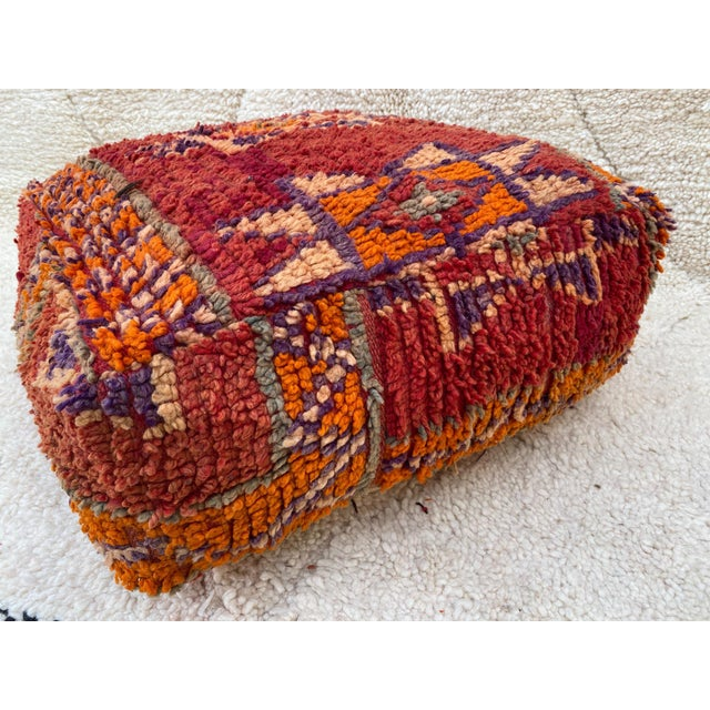 Moroccan Floor Cushion (pouf) handmade and sourced in Morocco. These poufs have all been carefully handpicked for their...