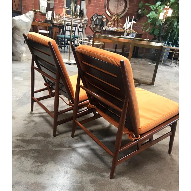 Pair of ISA Italian Club Chairs For Sale In Los Angeles - Image 6 of 10