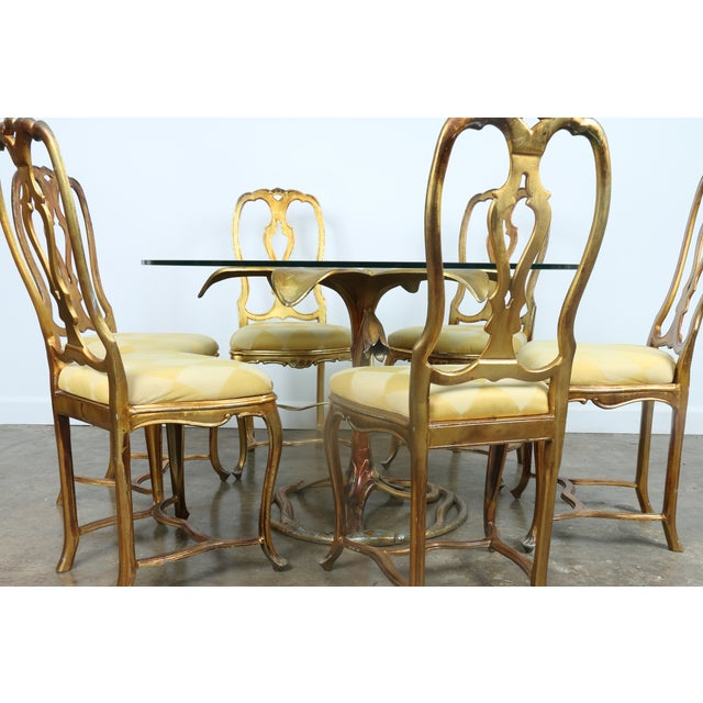 Arthur Court Gilded Lily Dining Set - Set of 7 - Image 5 of 10