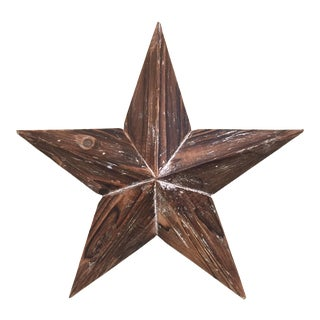 Large Wood Star