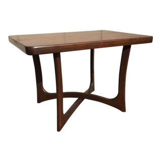 Craft Associates Sculptural Walnut Side Table For Sale