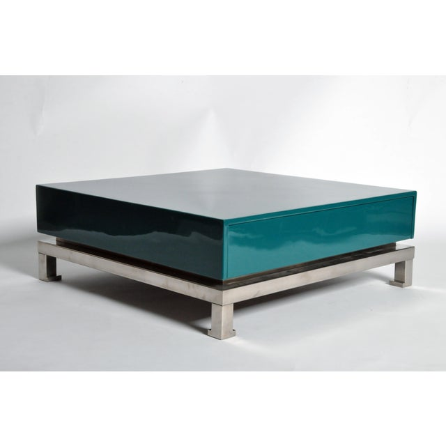 Metal Table Bases by Guy Lefevre for Maison Jansen For Sale - Image 7 of 11