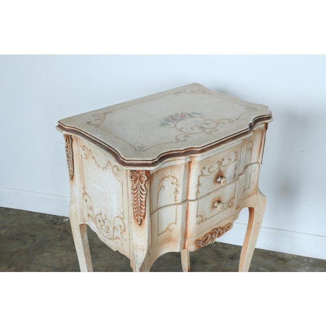 French Style Nightstands - A Pair - Image 8 of 11