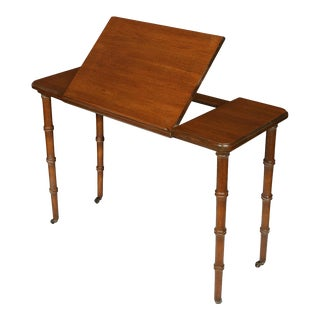 Mid 20th Century Antique Mahogany Architect's Table For Sale