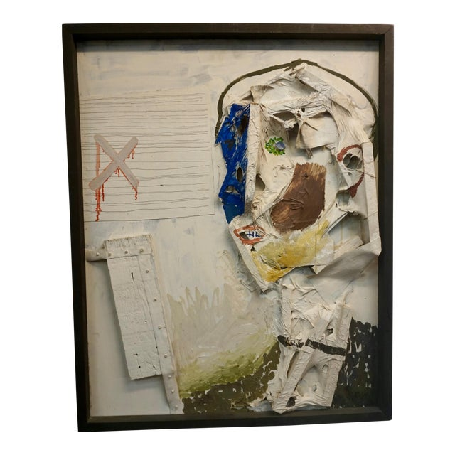 Abstract Collage by Sheldon Kirby For Sale