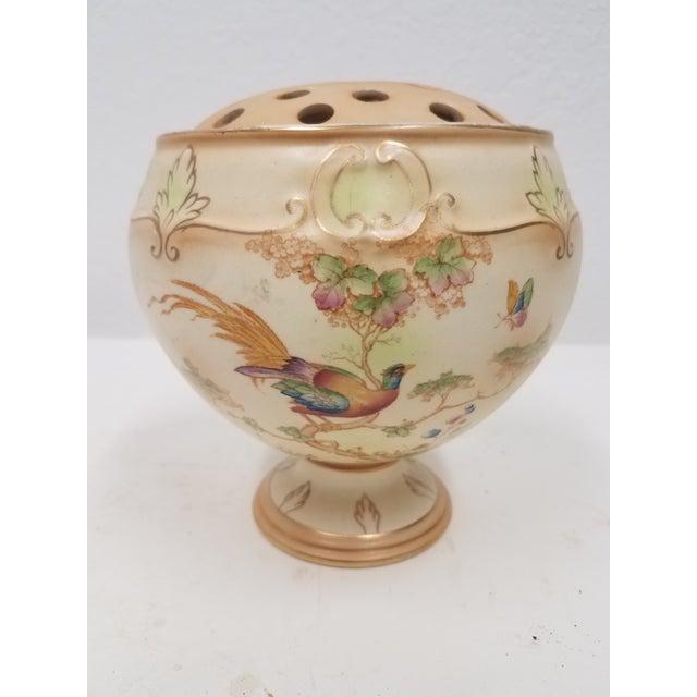 Antique English Ornate Flower Frog For Sale - Image 11 of 11