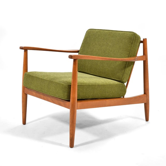 1950s Alf Svensson Lounge Chair by Dux For Sale - Image 5 of 7