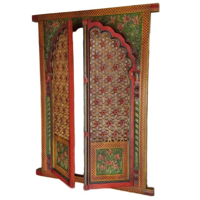 Jharokha Hand-Carved Window Frame - Image 1 of 4