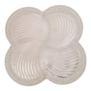 "Godinger ""Shannon Crystal"" Contour Relish Tray From Italy For Sale"