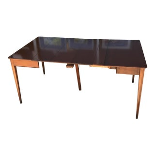 Traditional Mahogany Extension Table For Sale