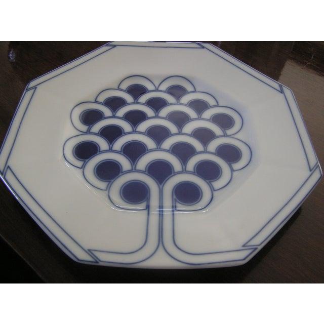Fitz & Floyd Topiary Dessert Plates - Set of 4 - Image 2 of 5