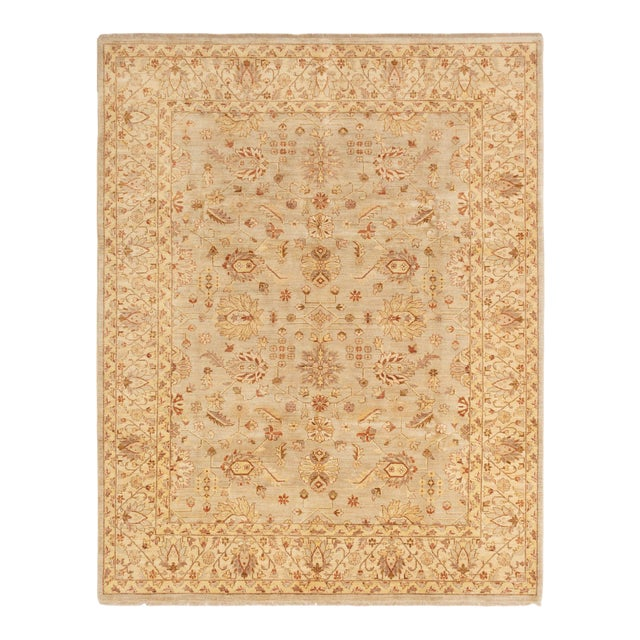"""Classic Hand-Knotted Rug, 8'0"""" X 10'4"""" For Sale"""