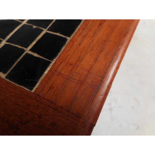 Vintage Modern Walnut Coffee Table For Sale - Image 4 of 12