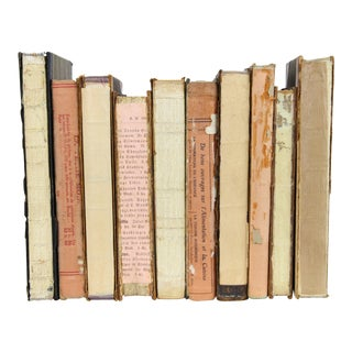 Deconstructed Antique Books - Set of 10