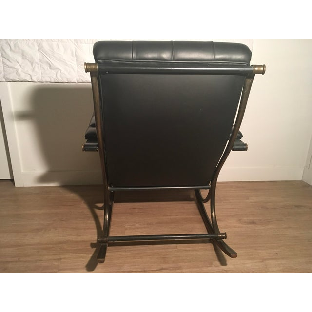 Lee L. Woodard Rocking Chair For Sale - Image 5 of 11