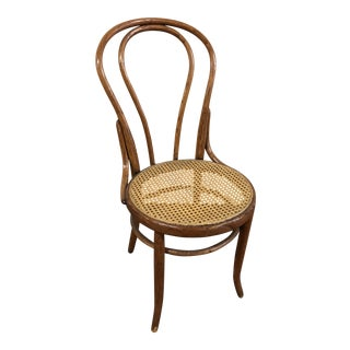 Vintage Bentwood Bistro Chair in the Style of Thonet For Sale