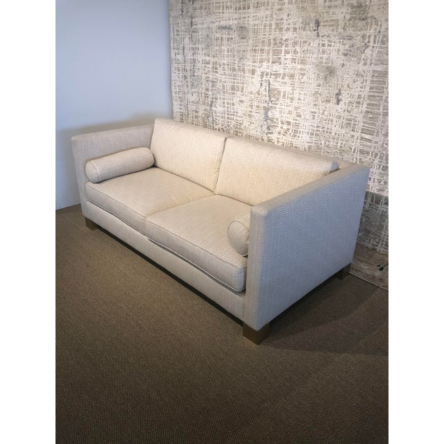 Early 21st Century White Scalamandre Upholstered Sofa For Sale - Image 5 of 11