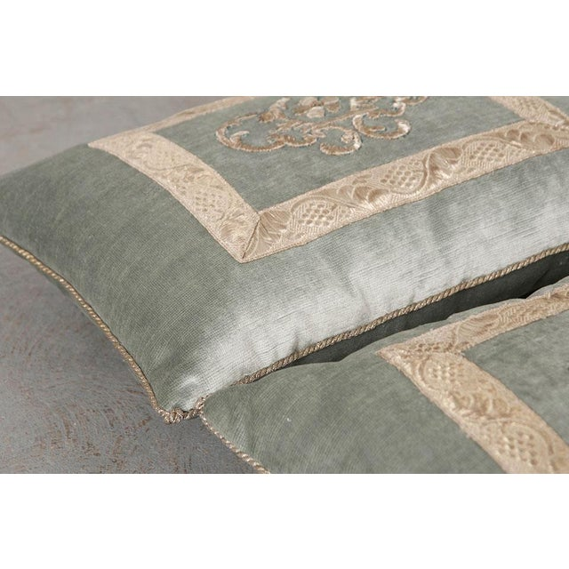 Antique Textile Pillow By B.Viz Designs - Image 3 of 8