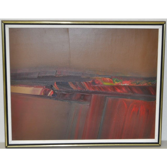 Don Clausen Abstract Expressionist Painting C.1980 - Image 2 of 7