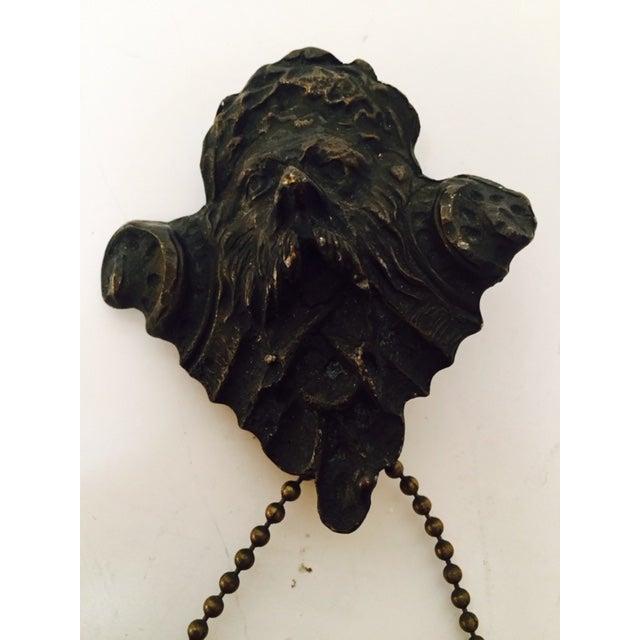 Antique Goth Memoria Morti Bronze Picture Frame - Image 3 of 6