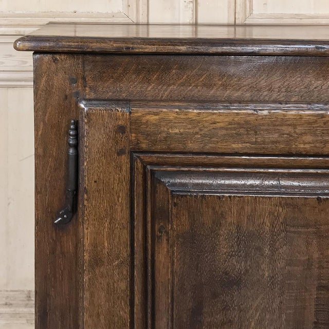 18th Century Country French Provincial Low Buffet For Sale In Dallas - Image 6 of 13