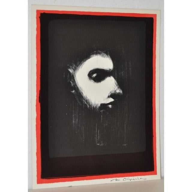 Black & White Lithograph by Nathan Oliveira - Image 2 of 6