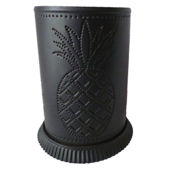 Black Steel Pineapple Table Lamp - Image 1 of 6