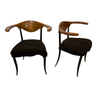 Pair of Modern Italian Chairs