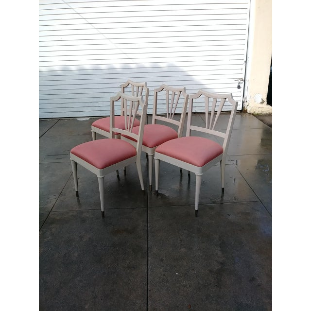 1930s Vintage Paul Frank Dinning Chairs- Set of 4 For Sale In Los Angeles - Image 6 of 13