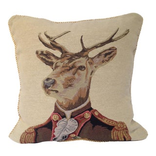 Colonel Stag Down Pillow