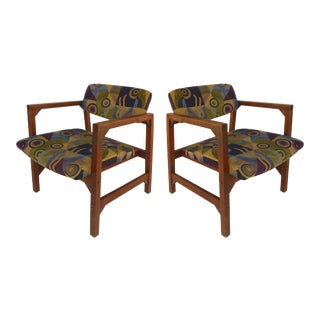 Danish Accent Chairs- a Pair