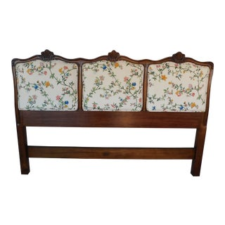 Kindel French Louis XV Style Queen Size Headboard For Sale