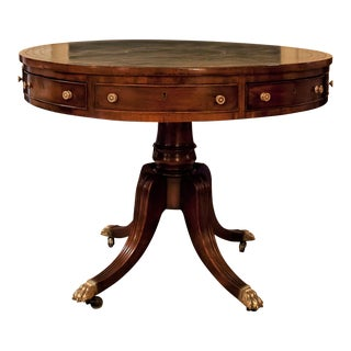 Regency Drum/Rent Table, England Circa 1815 For Sale