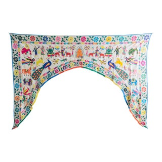 Vintage Handmade Indian Toran Door Valance