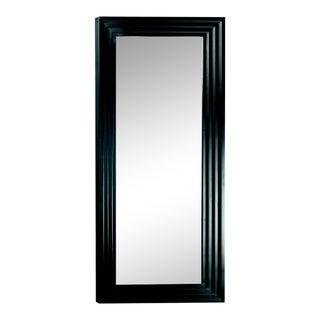 Arnaud Matte Black Solid Wood Full Length Floor Mirror For Sale