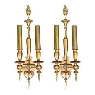 Early 20th Century Swedish Sconces - a Pair For Sale