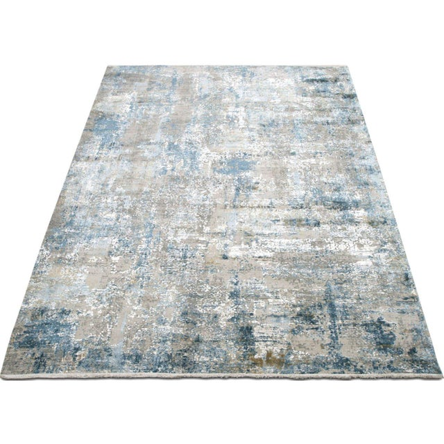 """2010s Contemporary Turkish Loomed Rug - 3'3"""" X 4'11"""" For Sale - Image 5 of 6"""