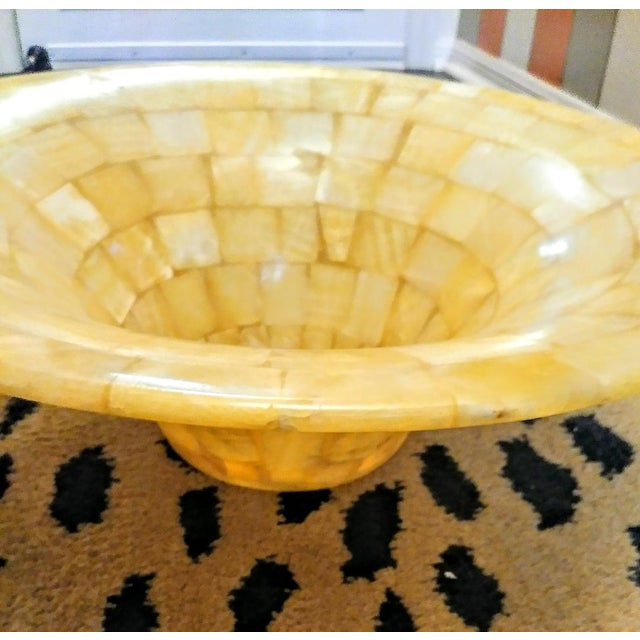 2000 - 2009 Tessellated Natural Stone Vessel Above Vanity Sink For Sale - Image 5 of 8