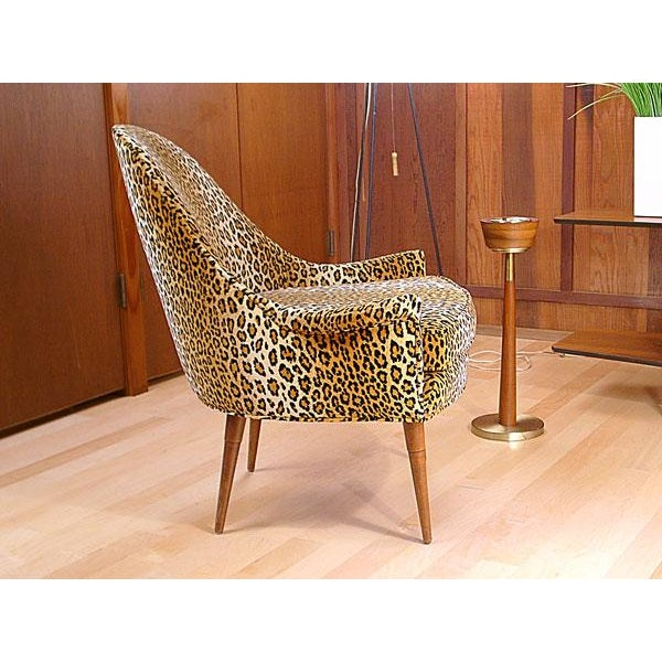 Sculptural Mid Century Danish Modern Chair - Image 3 of 9