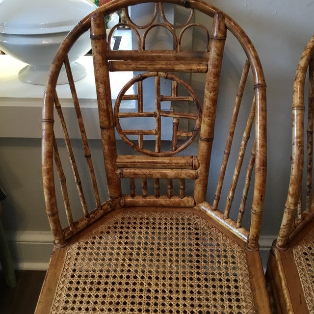 Vintage Brighton Chinese Chippendale Chairs - A Pair - Image 5 of 11