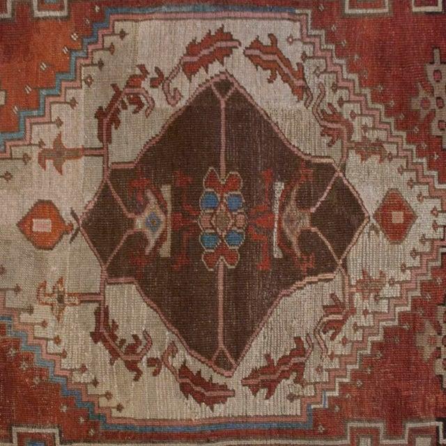 "Mid 19th Century 19th Century Bakhshayesh Carpet - 4'4"" x 6'10"" For Sale - Image 5 of 6"