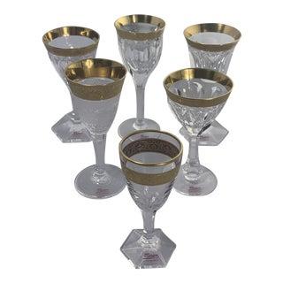 Moser Mouth Blown Liqueur Glasses Boxed - Set of 6 For Sale